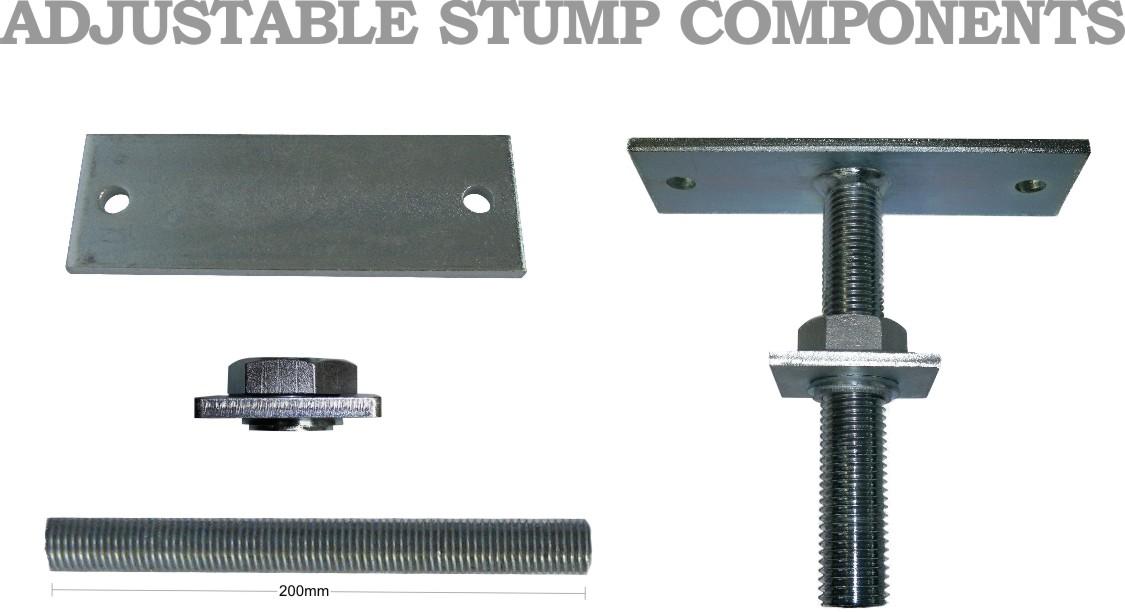 Adjustable Stump Components