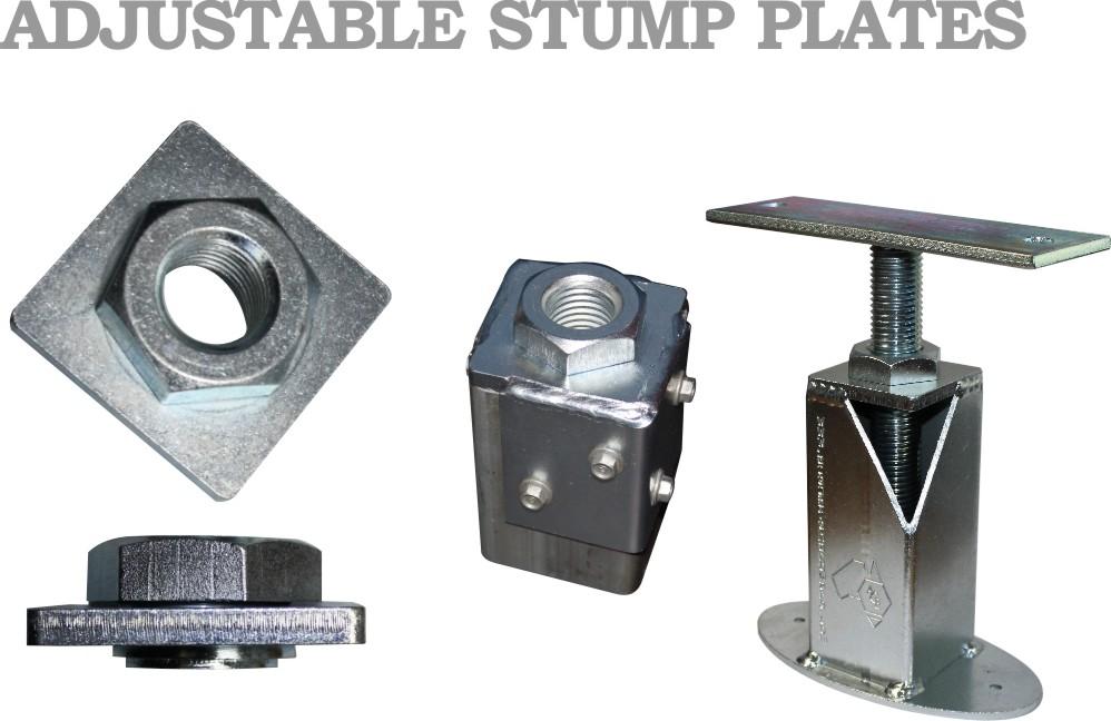 Adjustable Stump Plates