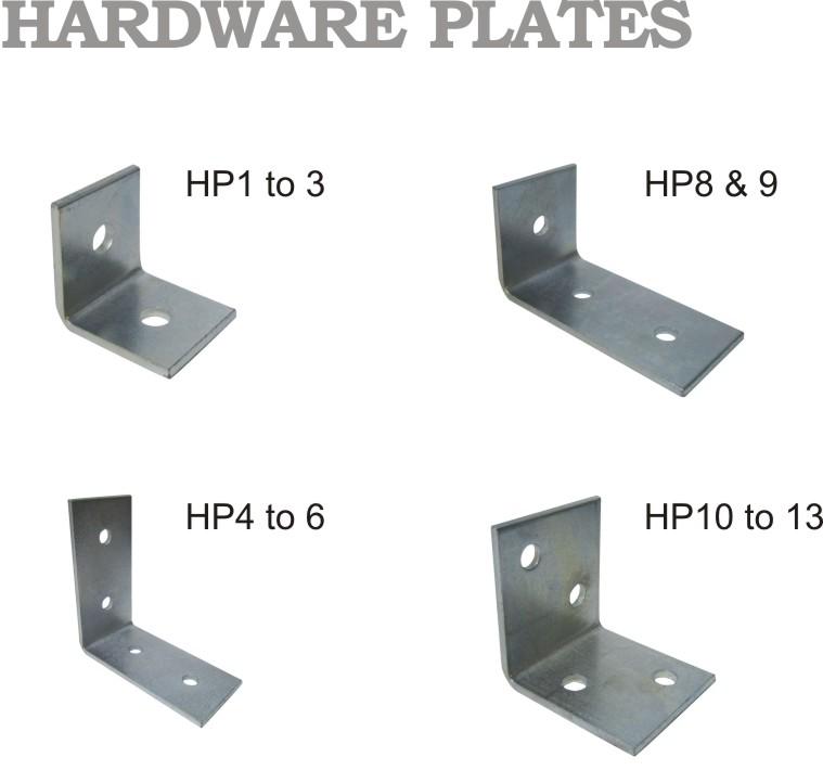 Hardware Plates HP series