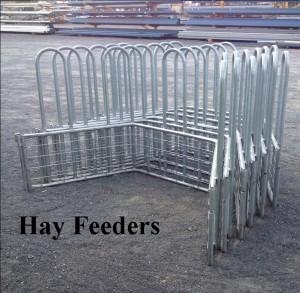 Hay feeders
