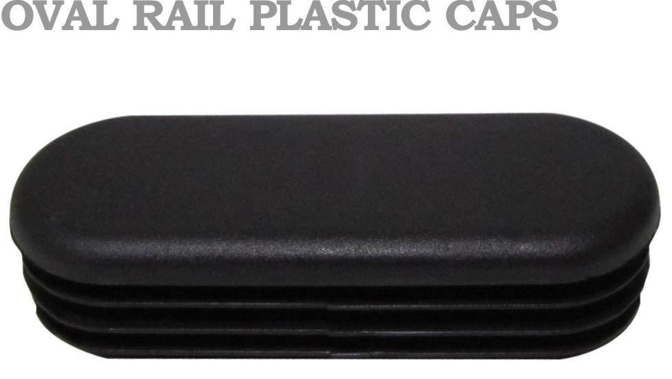 Oval Rail Caps